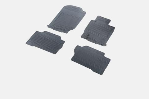 Pajero Sport Rubber Mat Set