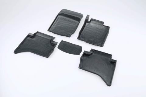 The rubber mat set available for the Triton double Cab ute